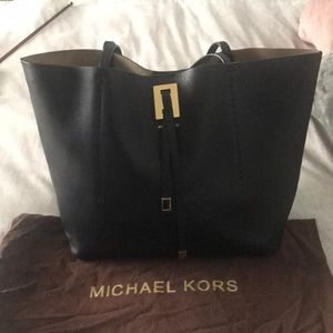 Michael Kors collection black tote